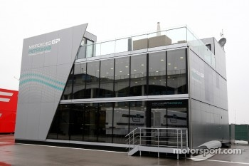 The Motorhome of Mercedes GP