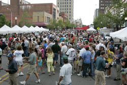 Fans at Jackson RaceWeek Festival
