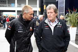 Martin Whitmarsh, McLaren, Chief Executive Officer, Norbert Haug, Mercedes, Motorsport chief