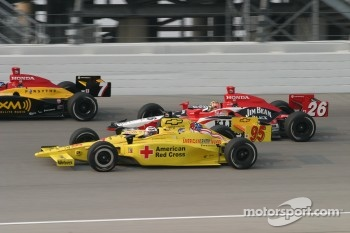 Buddy Lazier and Dan Wheldon