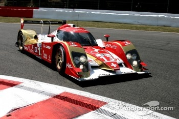 #13 Rebellion Racing Lola B10/60 Coup-Toyota: Andrea Belicchi, Jean-Christophe Boullion