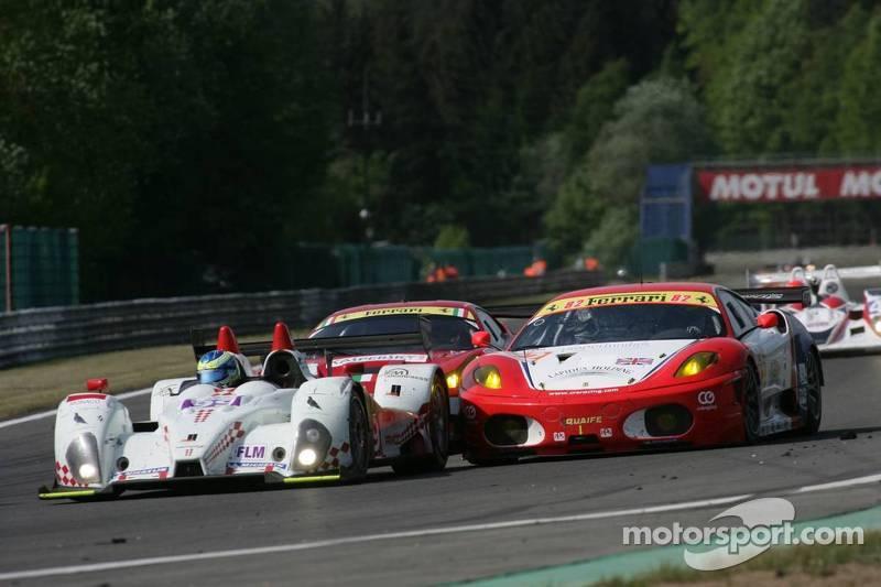 #99 JMB Racing Formula Le Mans Oreca-09: Manuel Rodrigues, Jean-Marc Menahem