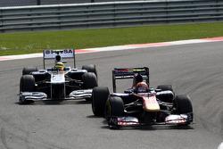 Jaime Alguersuari, Scuderia Toro Rosso, STR06, Pastor Maldonado, AT&T Williams, FW33