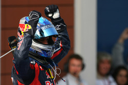 Race winner Sebastian Vettel, Red Bull Racing