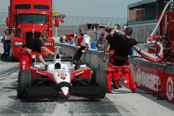 Chip Ganassi Racing pit area