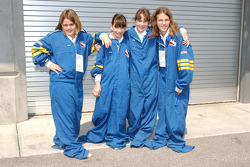 Perhaps these firesuits are a bit too large