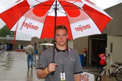 IPS driver Travis Gregg