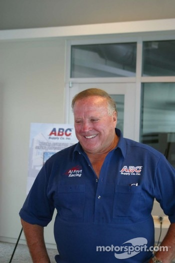 A.J. Foyt - ABC Supply press conference: A.J. Foyt