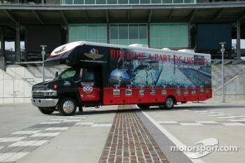 Indy 500 Fan Tour Recreational Vehicle