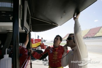 Bryan Herta and Dario Franchitti