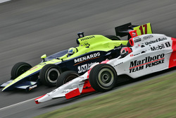 Vitor Meira and Helio Castroneves