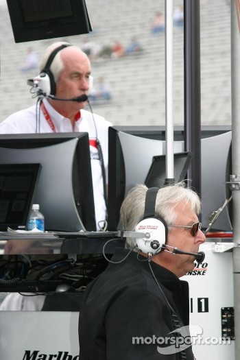 Roger Penske and Rick Mears