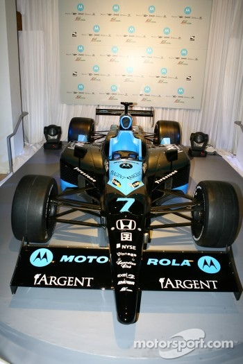 The Andretti Green Motorola car