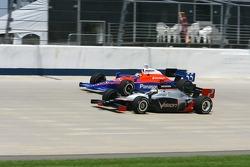 Tomas Scheckter and Kosuke Matsuura