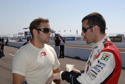 P.J. Chesson and Dario Franchitti