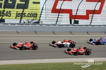 Scott Dixon, Darren Manning and Dan Wheldon