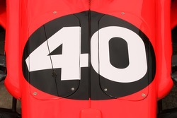 Detail of the #40 car of P.J. Jones
