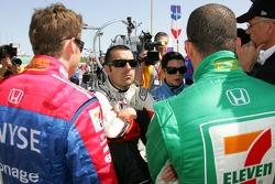 Marco Andretti, Dario Franchitti, Tony Kanaan and Danica Patrick
