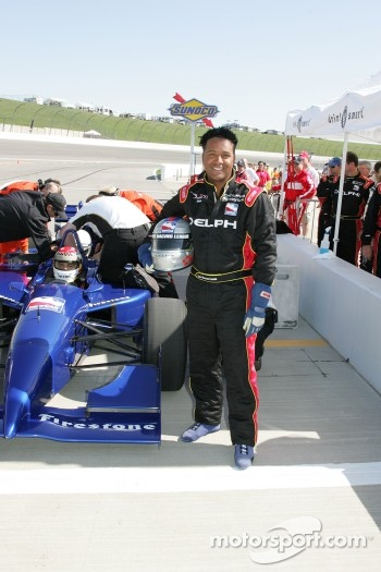 Indy two-seater experience: a lucky guest