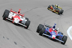 Helio Castroneves, Marco Andretti and Vitor Meria