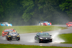 Pace car on track