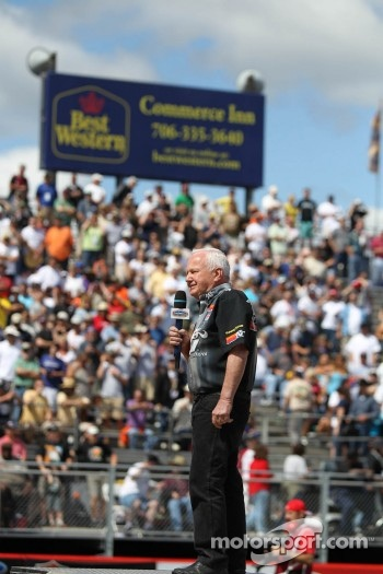 Atlanta native and being celebrated at the Atlanta Dragway opening ceremony