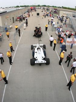 Car of Scott Speed, Dragon Racing