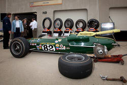 The original Lotus-Ford 38 driven to victory by Jim Clark in 1965