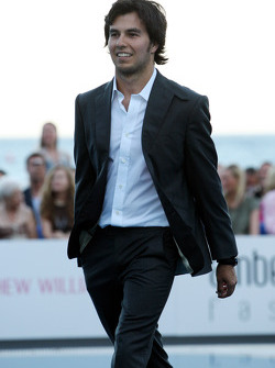 Sergio Perez, Sauber F1 Team Amber Lounge Fashion