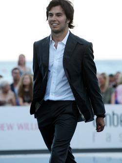 Sergio Perez, Sauber F1 Team Amber Lounge Fashion
