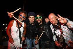 Eddie Jordan with The Robbers