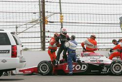 Ryan Briscoe, Team Penske after his crash