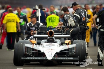 Pole winning car of Alex Tagliani, Sam Schmidt Motorsports