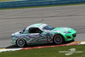 #25 Freedom Autosport Mazda Speed 3: Derek Whitis, Tom Long