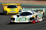 #33 Porsche 962: Henrik Lindberg, Peter Nielson; #20 Spice: Claus Bjerglund