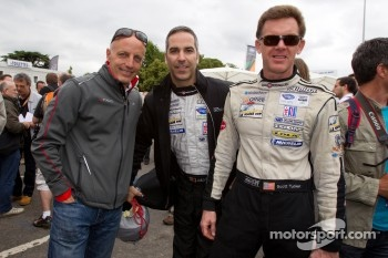Nick Longhi, Joao Barbosa and Scott Tucker