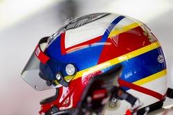 Helment of Juan Pablo Montoya, Earnhardt Ganassi Racing Chevrolet