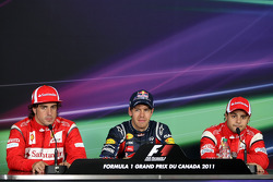 Top qualifiers press conference