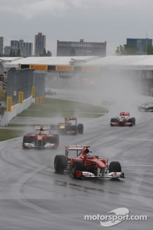 Attrocious conditions during the Canadian GP
