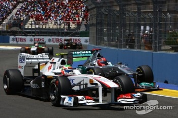 623 overtaking moves in nine Grands Prix this season