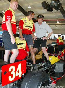 Mi-Jack Conquest Racing crew member