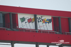 Flags at California Speedway