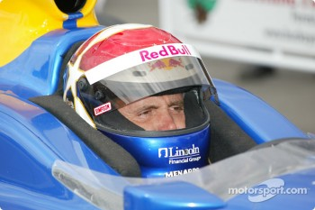 Pole winner Eddie Cheever