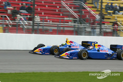 Eddie Cheever and Tomas Scheckter