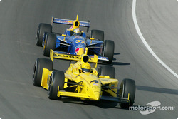 Sam Hornish Jr. and Buddy Rice