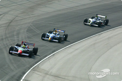 Felipe Giaffone, Buddy Rice and Buddy Lazier