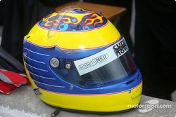 Tony Renna's helmet