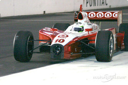 Tomas Scheckter took a lap without a front wing
