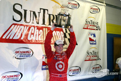 Scott Dixon with trophy