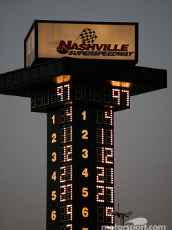 Nashville Superspeedway scoring tower